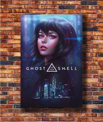 New Ghost In The Shell Movie 2017 Scarlett Johansson Custom Poster Decor T 541 Kunstplakate