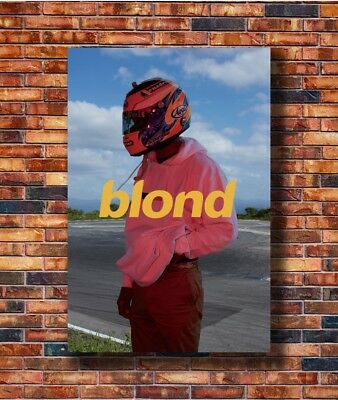 Frank Ocean Star Blond Rap Hop Music Album Cover New Print Poster 36 27x40 P1442
