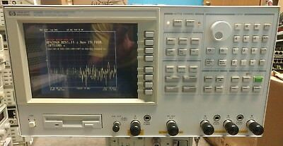 Hp Agilent 4396B Network/spectrum/impedance Analyzer 100Khz-1.8Ghz