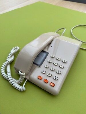 BT viscount telephone - classic 1970's device in good working order!