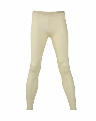 Engel Thermal Leggings Organic Merino Wool and Mulberry Silk NATURAL Base Layer