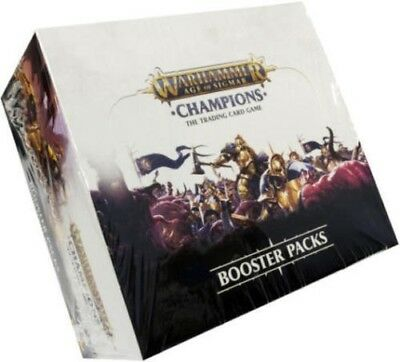 Warhammer Age of Sigmar Champions Booster Box 24ct SEALED!!