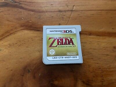 The Legend of Zelda Ocarina of Time Nintendo 3DS Game AUS PAL Cartridge Only
