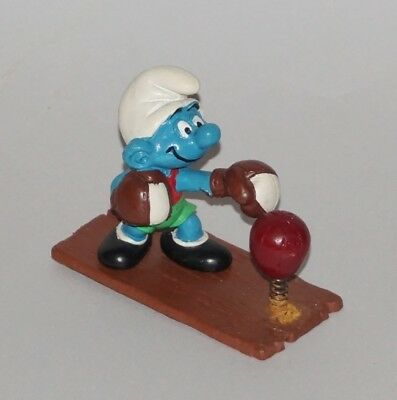 Super PUFFO PUGILE BOXER & Pungiball, 1980 W. Germany, 4.0508 - Smurf-Schtroumpf