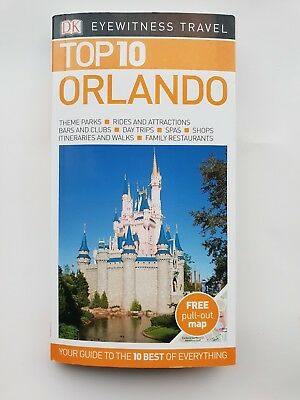 ORLANDO TRIP GUIDE 2017 Top 10 Of Everything With Pull Out Map