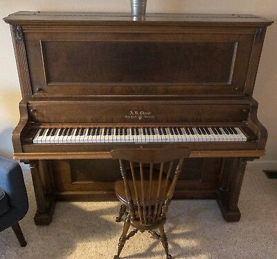 AB Chase Upright Piano