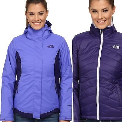 The North Face Mossbud Remolino Triclimate 3IN1 Chaqueta Mujer Nieve