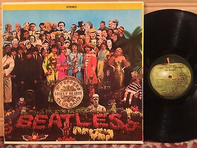 Beatles Sgt Peppers Lonely Hearts Club Band EX APPLE