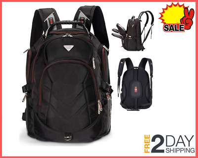 Travel Laptop Backpack 18.4 Inch Fit 18 Inch Laptop External USB Charging Port