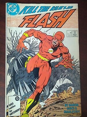 The Flash #4 DC Comics 1987 Mike Baron Jackson Guice