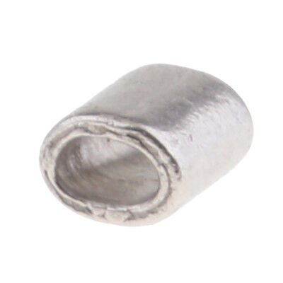 Stainless Steel Crimping Oval Sleeves for 1-6MM Wire Rope Cable Ferrules