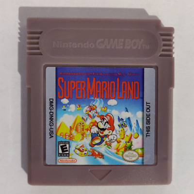 Super Mario Land Gbc/gb - Eur/usa/uk - New Battery - With Cover