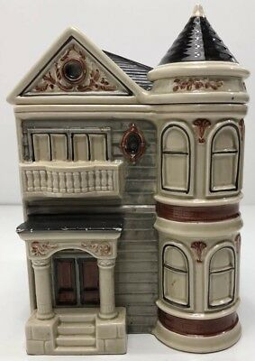 Otagiri Victorian House Cookie Jar 1979 Japan Canister Home Decoration 10in