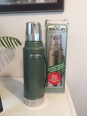 Vintage NEW IN BOX ALADDIN STANLEY NO. A-944DH QUART THERMOS NEVER USED