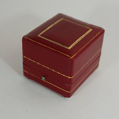 RARE Cartier antike / vintage Box for Ring - Red / White / Black / Gold 1980ties
