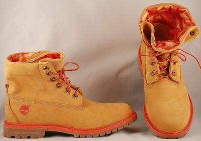 WOMEN'S TIMBERLAND AF Authentics Roll Top Wheat Leather