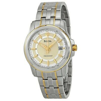 New Bulova Men's 98B156 Precisionist Champagne dial Watch