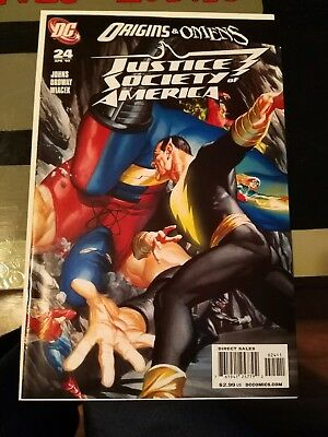 Justice society of america #24 Alex Ross cover, first appearance of Chimera