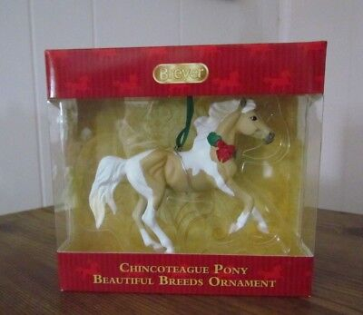 Breyer Christmas CHINCOTEAGUE PONY Beautiful Breeds ornament NEW