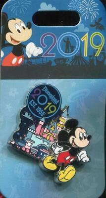 DLR 2019 Dated Mickey Mouse Disney Pin