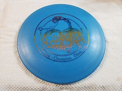 Scorpion DX 171g Vintage Double Circle OOP Innova  New Prime Disc Golf Rare