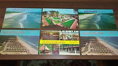 VINTAGE MYRTLE BEACH AREA - ARROWHEAD CAMPGROUND Post Cards