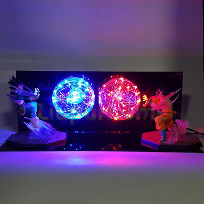 Dragon Ball Z Goku Diy Led Lighting Lamp Anime Dragon Ball Z Super Saiyan Fes Dbz Son Goku God Led Night Lights Luces Navidad Led Night Lights