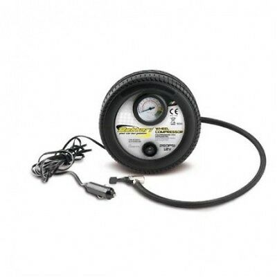Compresor Con Manometro 12V-260Psi 24054