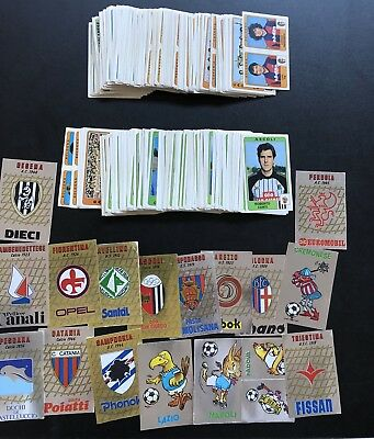 Calciatori 1984 85 - Lotto 363 figurine stickers diverse