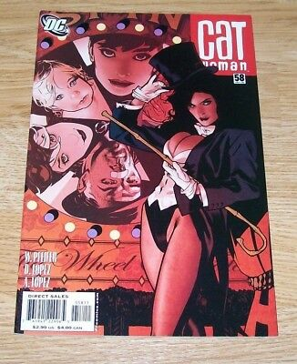 Catwoman #58 -  Adam Hughes Cover  -  Dc Comics - Oct 2006