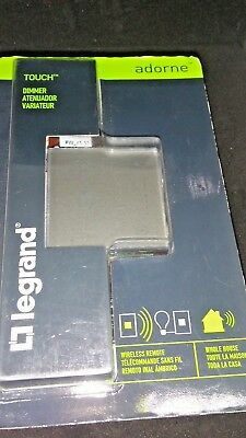 Legrand ADTHRRM1 Adorne Touch Dimmer Wireless Remote Whole House MAGNESIUM