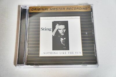 Sting - Nothing Like The Sun Omr Udcd546 24 Kt Gold Plated-Cd