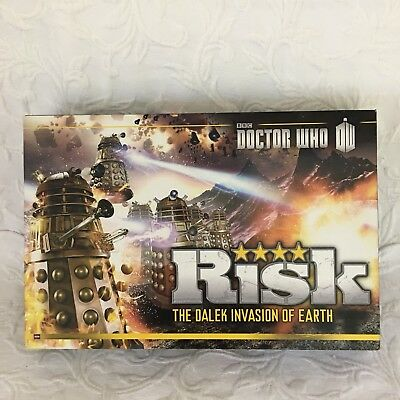 Risk The Dalek Invasion of Earth Game Dr Who