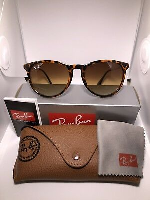 Ray Ban Unisex Erika Tortoise Frame, Brown Sunglasses 4171