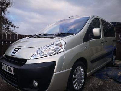 Peugeot Expert Tepee Disability car, wheelchair van
