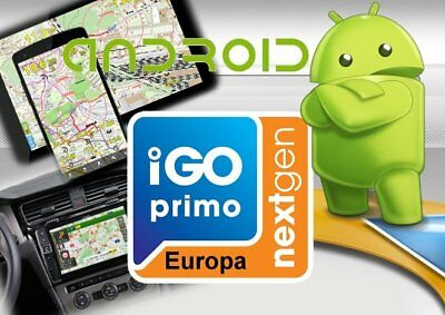 IGO Primo Android Nextgen Navigation Software Q1-Jan.-März.2019 Micro SD 16.GB