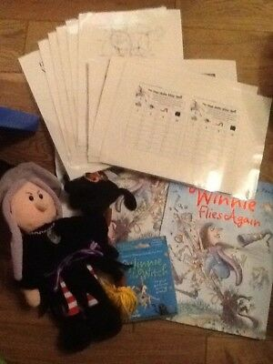 Winnie the Witch Story Sack Childminding /Teaching Resource