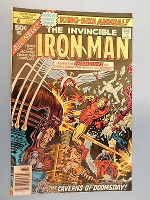 Marvel The Invincible Iron Man Annual #4 (1977) 9.0 VF/NM