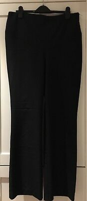 Dorothy Perkins Black Maternity Trousers Under Bump Size 8