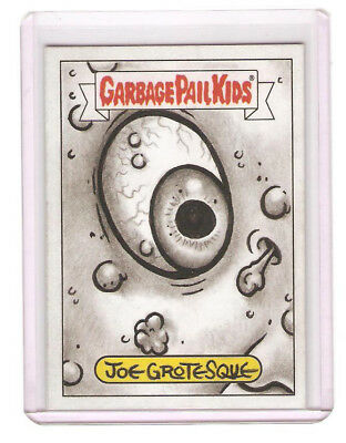 Garbage Pail Kids sketch card Joe Grotesque 2017 Battle of the Bands.
