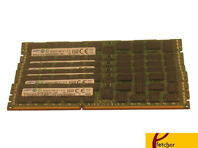 64GB (8X8GB) DDR3 1333 PC3-10600 ECC Registerer 240-PIN 1333MHZ für Servers & Ws