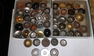 Antique Phonograph Needle Cups LOT OF 50 CUPS !!!!