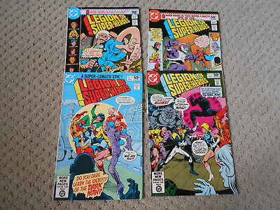 Legion of Super-Heroes #268-271 (1980, DC) Fatal Five, Saturn Girl, Steve Ditko
