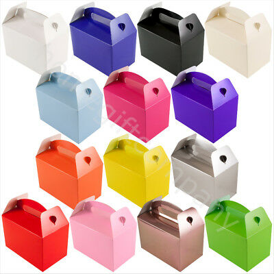 Kids Childrens Party Favour Boxes Birthday Wedding Favours Picnic Lunch Food Box