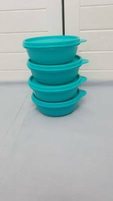 Tupperware Kleine Hit-Parade -Set (4) - Blau OVP !!