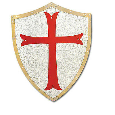 Medieval Middle Ages Renaissance Knight Crusader Armor Battle Shield