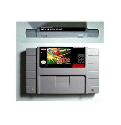 SNES Parallel Worlds - The legend of Zeldaed Series Games
