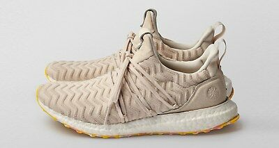 60d225e00f2 Adidas Consortium Ultra Boost A Kind of Guise AKOG 8-13 Beige Yellow BB7370