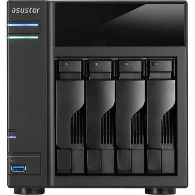 Asustor AS-204T Data Storage Server with 12TB (4 x 3TB) of Hard Drives