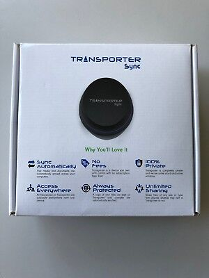 Transporter Sync - Network Attached Storage (NAS) private dropbox